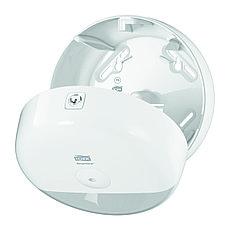 Диспенсер для туалетной бумаги в мини-рулонах Tork SmartOne, белый 681000, фото 2