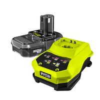 RBC18L40  Аккумуляторная батарея 1х18В, 4.0 Ач, Li-Ion и зарядное устройство