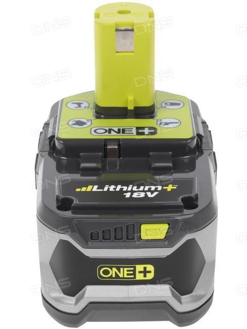 RBC18L50   Аккумуляторная батарея 1х18В, 5.0 Ач, Li-Ion и зарядное устройство