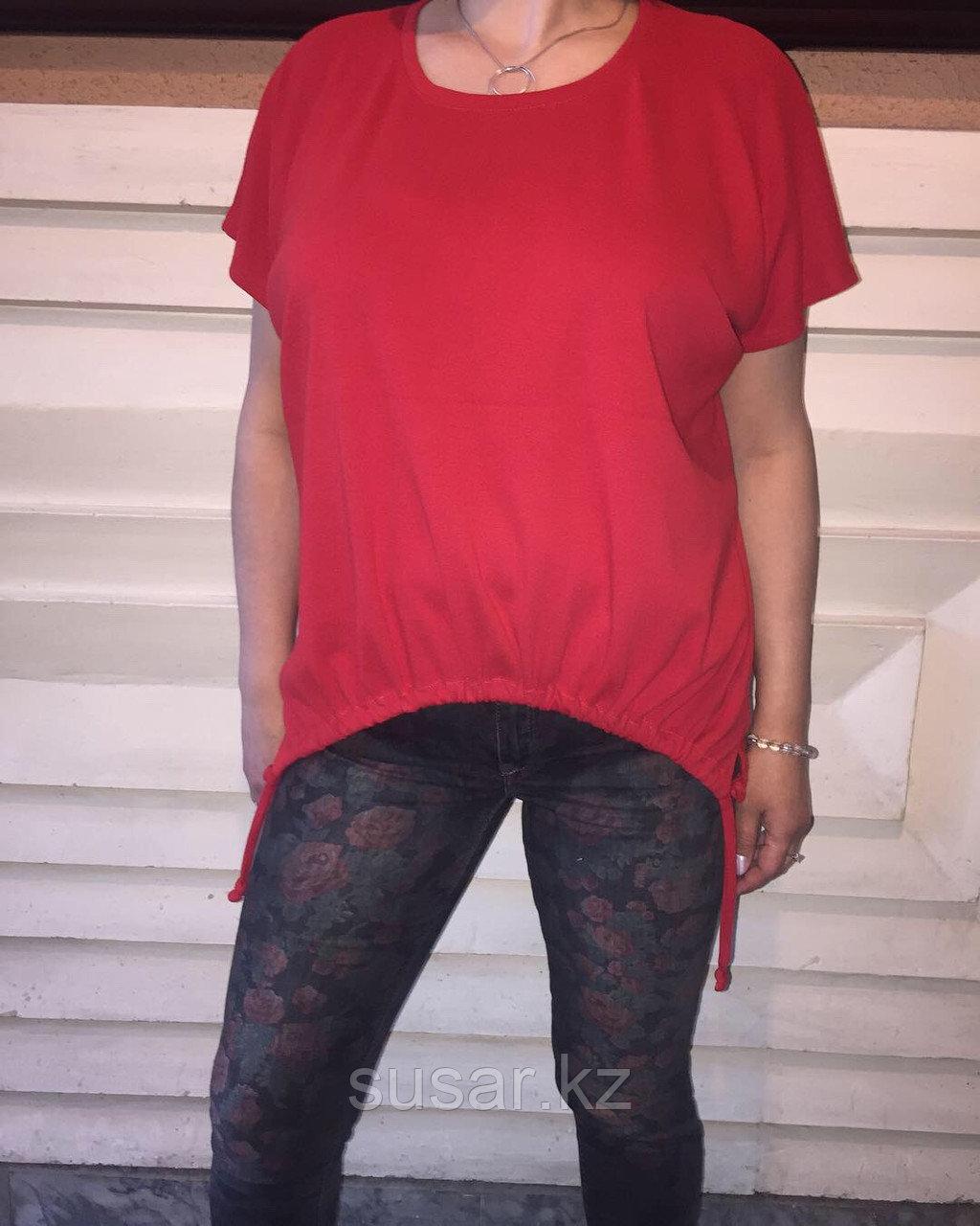 Красный летний блузон Susar