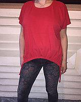 Красный летний блузон 50-60 размер Susar, фото 1