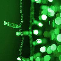 Светодиодная гирлянда ARD-CURTAIN-CLASSIC-2000x3000-CLEAR-760LED Green (230V, 60W), фото 1
