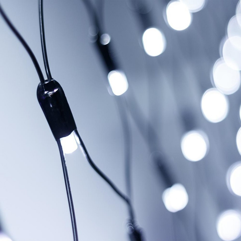 Светодиодная гирлянда ARD-NETLIGHT-CLASSIC-2500x2500-BLACK-432LED White (230V, 26W)