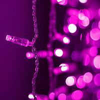 Светодиодная гирлянда ARD-CURTAIN-CLASSIC-2000x1500-CLEAR-360LED Pink (230V, 60W)
