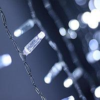 Светодиодная гирлянда ARD-CURTAIN-CLASSIC-2000x9000-CLEAR-2200LED White (230V, 120W)