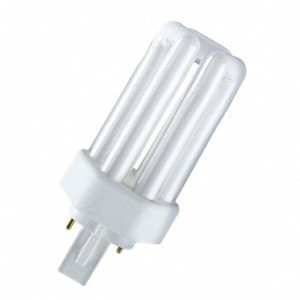 Лампа КЛЛ энергосберегающая 13Вт GX24d-1 Dulux T 13W/830 PLUS 3000К теплый белый свет 113х49 4050300446929 OSRAM