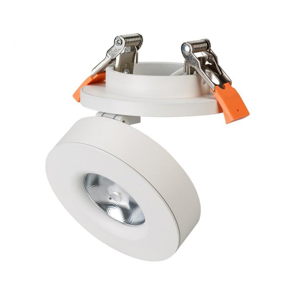 Светильник LGD-MONA-BUILT-R100-12W White5000 (WH, 24 deg)