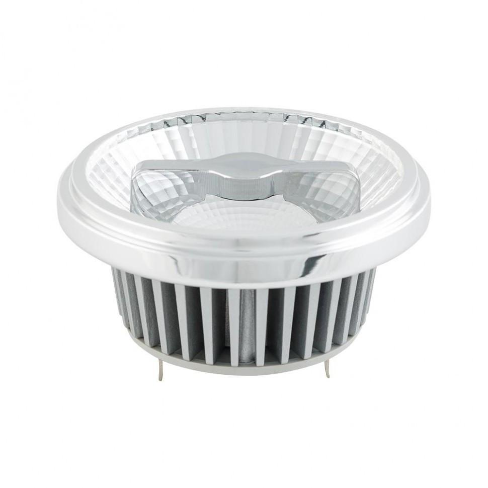 Лампа AR111-FORT-G53-15W-DIM Warm3000 (Reflector, 24 deg, драйвер 350mA)
