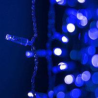 Светодиодная гирлянда ARD-CURTAIN-CLASSIC-2000x3000-CLEAR-760LED Blue (230V, 60W), фото 1