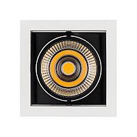 Светильник CL-KARDAN-S152x152-25W White6000 (WH-BK, 30 deg), фото 1