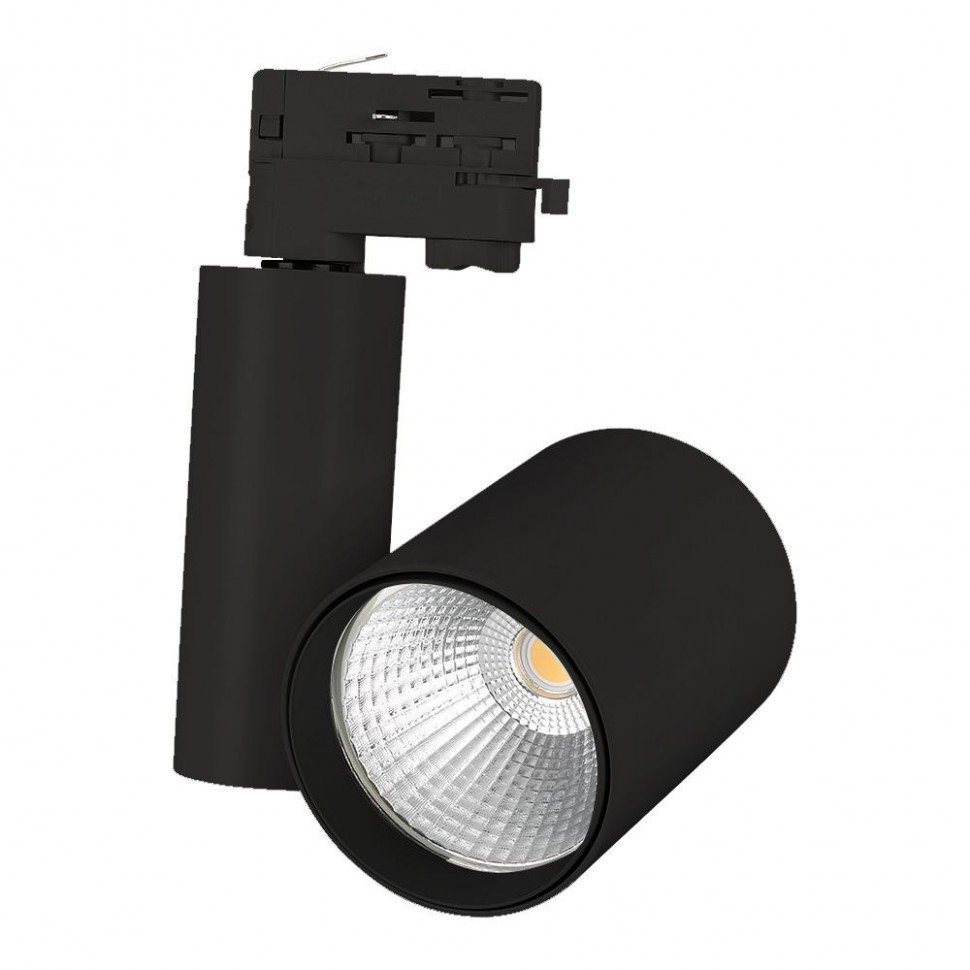 Светильник LGD-SHOP-4TR-R100-40W Warm3000 (BK, 24 deg)