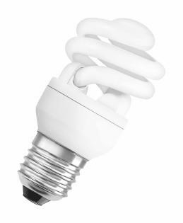 Лампа КЛЛ энергосберегающая 24Вт Е27 DSST MCTW 24W/840 4000К спираль, холодный свет 118х57 9 4052899917835 OSRAM