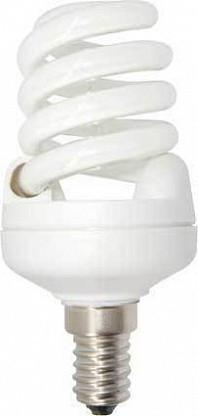 Лампа КЛЛ энергосберегающая 25Вт E14 Spiral Slim Full 4100K холодный свет 107х50 /Z4SV25ECL/ ECOLA