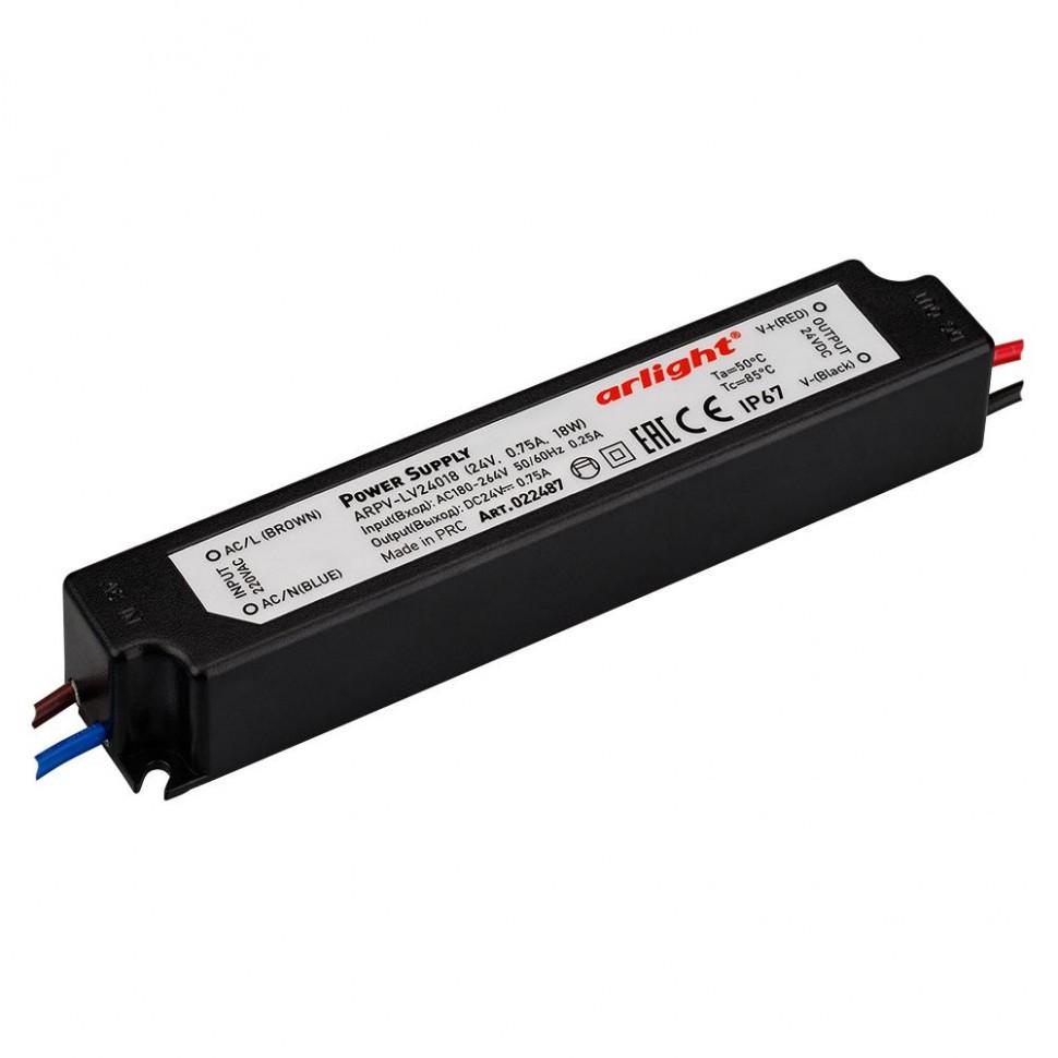 Блок питания ARPV-LV24018 (24V, 0.8A, 18W)