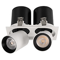 Светильник LGD-PULL-S100x200-2x10W White6000 (WH, 20 deg)