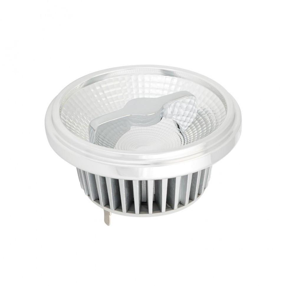 Лампа AR111-FORT-G53-12W-DIM Warm3000 (Reflector, 24 deg, драйвер 350mA)