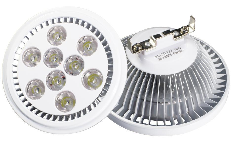 Светодиодная лампа MDSV-AR111-9x1W 35deg Warm White 12V