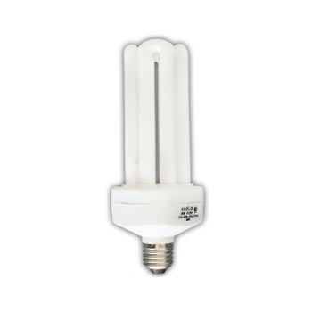 Лампа КЛЛ энергосберегающая 40Вт E27 4U 4U-04 2700K теплый свет 195х75 /R7LW40ECB/ ECOLA