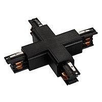 Коннектор крестовой LGD-4TR-CON-X-BK (C)