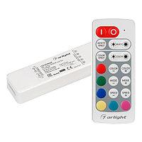 Контроллер ARL-MINI-RGBW-4x2.5A (5-24V, RF ПДУ 20кн)