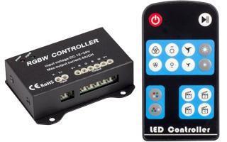 Контроллер LN-RF16B-4CH (12-24V, 192-384W, ПДУ16кн