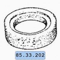 Резиновый бандаж 85.33.202 поддерживающего катка ДТ-75