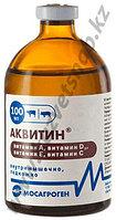 Аквитин - раствор для инъекций, витамины А,Д3,Е,С