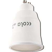 Лампа КЛЛ энергосберегающая 9Вт GU10 MR16 4100K рефлектор, хололодный свет 76х50 /G10V09ECB/ ECOLA
