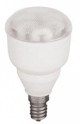 Лампа КЛЛ энергосберегающая 11Вт Е14 R50 4000K Luxser50 зеркальная холодный свет 90х50 /G4LV11ECG/ ECOLA
