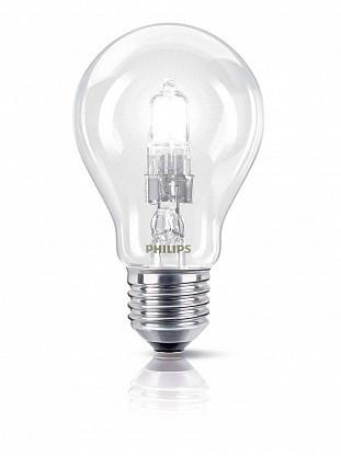 Лампа галогенная 42Вт Halogen 42W E27 230V A55 CL  872790025198225 Philips