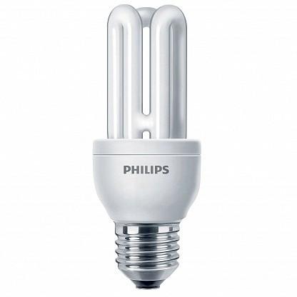 Лампа КЛЛ энергосберегающая 11Вт E27 Genie 6y 11W WW 2U 230-240В 871150080119710 PHILIPS