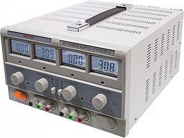 HY3003D-2 лабораторный блок питания 0-30В/3Ax2