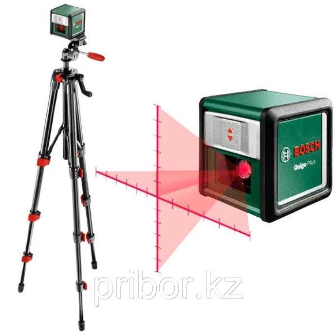 Bosch Quigo Plus Линейный лазерный нивелир со штативом. Внесен в реестр СИ РК