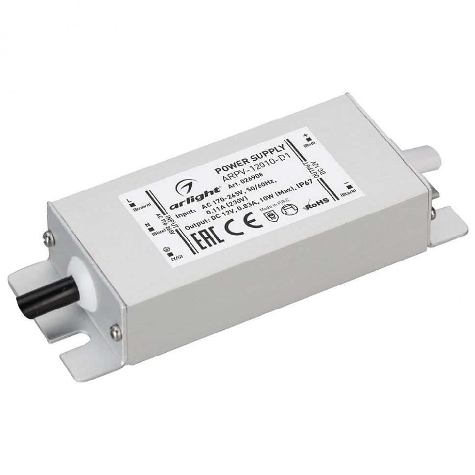 Блок питания ARPV-12010-D1 (12V, 0.83A, 10W)