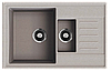 Кухонная мойка ORIVEL - QUADRO PLUS 1.5D серый