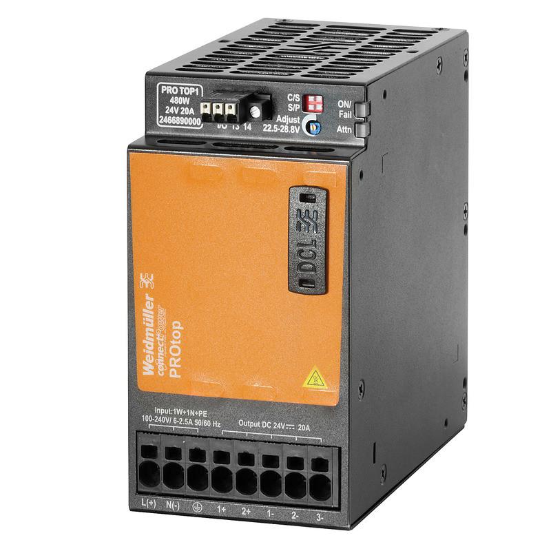 Источник питания управляемый PRO TOP1 480W 48V 10A