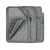 Комплект салонных ковриков focus-2 с отстёгивающимся ковролином