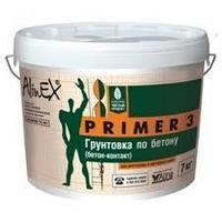 Грунтовка ALINEX Primer 3, по бетону