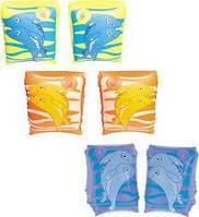 Детские надувные нарукавники, для плавания, Дельфин, Bestway 32042, размер 23х15 см, фото 1