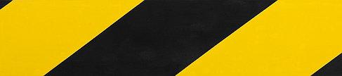 Разметочная клейкая лента, ЗУБР 12249-50-25, цвет черно-желтый, 50мм х 25м, фото 2