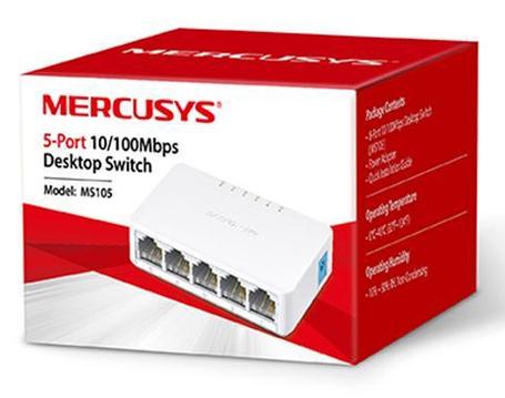 Коммутатор 5-портовый Mercusys MS105(EU), фото 2