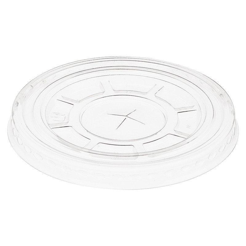 Крышка к стаканам d7,8см 825530 прозрачная с крестиком 50 штук в упаковке