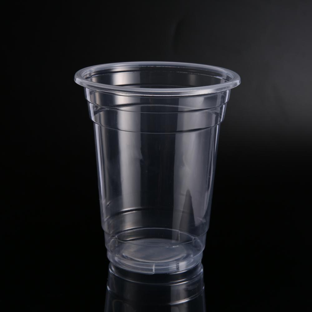 Стакан пластиковый 400мл прозрачный d9,5см 50 штук в уп