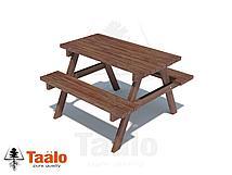 Столик с лавочками Taalo