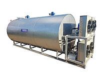 Охладители молока горизонтальные закрытого типа с автоматом промывки 1000-12000 л