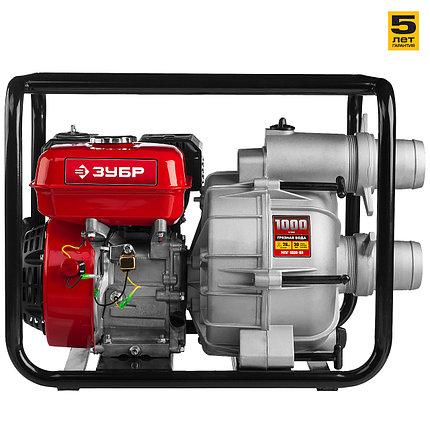Мотопомпа бензиновая для грязной водя МПГ-1000-80 серия «МАСТЕР», фото 2