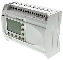 Логические модули AL2-14MR-D Mitsubishi Alpha 2 Logic Module, 24 V dc, 8 x Input, 6 x Output With Display