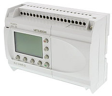 Логические модули AL2-24MR-D Mitsubishi Alpha 2 Logic Module, 24 V dc, 15 x Input, 9 x Output With Display