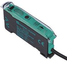 Волоконно-оптические датчики SU18-16/40A/110/115/126A Pepperl + Fuchs Glass, Plastic Fibre Optic Sensor 450 mm, NPN, PNP Output, IP50, 10 → 30 V dc