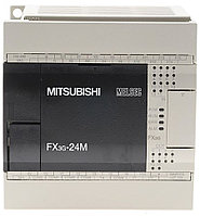 Логические модули FX3G-24MT-DSS Mitsubishi FX3G Series Logic Module, 12 → 24 V dc, 14 x Input, 10 x Output Without Display